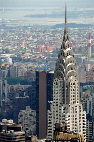 Edificio Chrysler desde el observatorio del Empire State