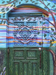 Fatou & Fama mural (detail)