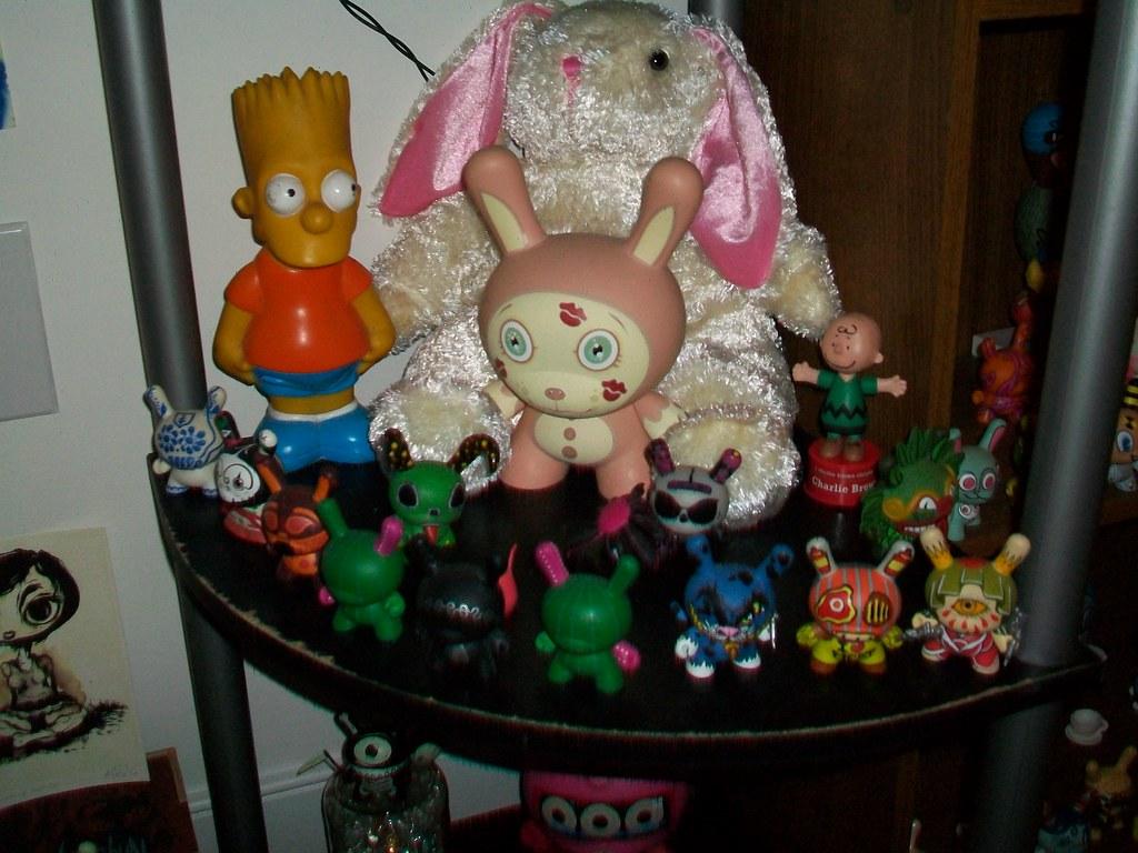 bart, fluffy bunny & dunnys