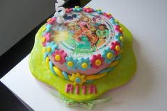 Bolo Winx (linhasebolinhos) Tags: cake bolo girlie winx sugarpaste pastadeaçúcar