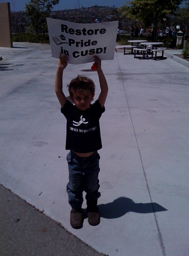 little protestor
