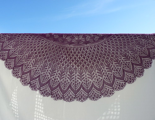 Vernal Equinox Shawl 13