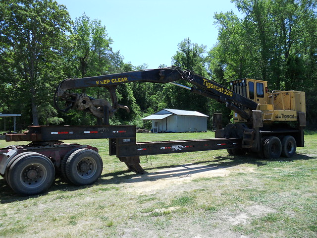 Tigercat 230 Knuckleboom Loader For Sale 01 by Jesse Sewell
