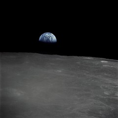 Earthrise (Ars Electronica) Tags: nasa deepspace arselectronicacenter2010 dermenschimkosmos