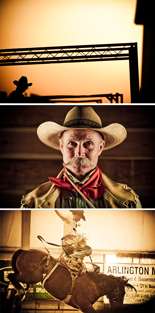 Rodeo-triptych