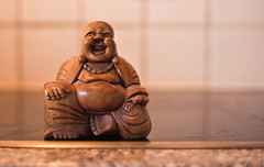 Laughing Buddah (King....) Tags: wood digital laughing canon happy carved icon figure caving buddah 5dmk2