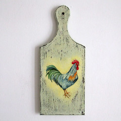 "Cutting board ""Cock"""