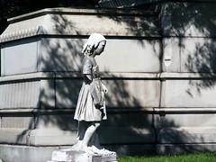 The Little Girl (Fleur-de-louis) Tags: usa monument girl cemetery graveyard statue kid catholic child kentucky ky stlouis young louisville saintlouis archdioceseoflouisville