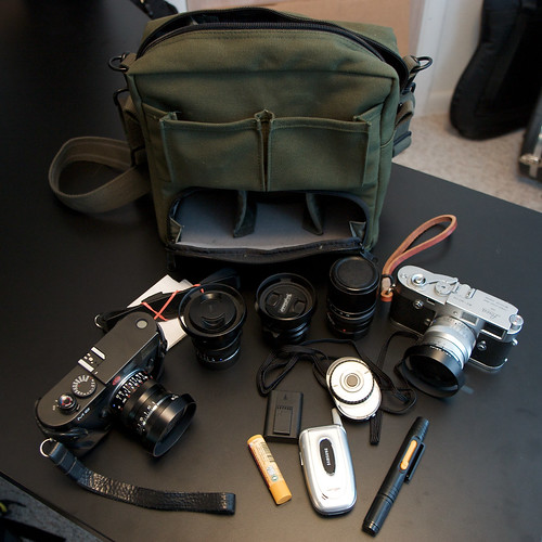 leica kit in domke f-5xc