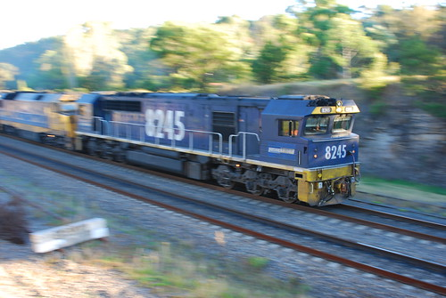 CA18 - 2 x 82 Class & 1 DL Class diesel electric locos