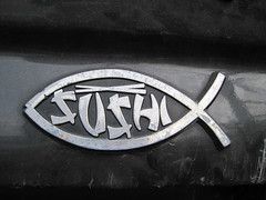 IMG_3541 (jdong) Tags: seattle fish cars sushi decal