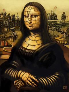 La Gioconda - ipad finger painting