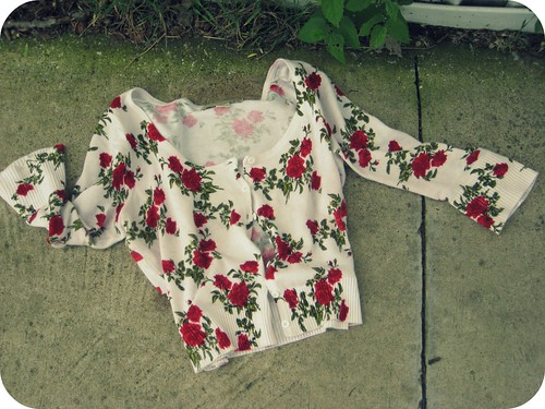 XXI floral cardigan
