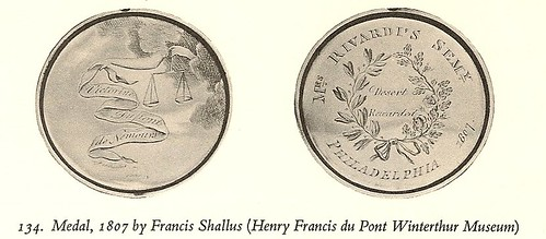 Medal by Francis Shallus, 1807