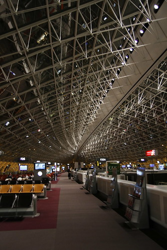 Charles De Gaulle International Airport at 5am