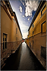 ... IMG_8658 (*melkor*) Tags: road old city sky art water architecture clouds landscape geotagged experiment minimal abandon waters conceptual palaces comacchio melkor trashbit lostonancientislandsproject almostanonlywatersroad
