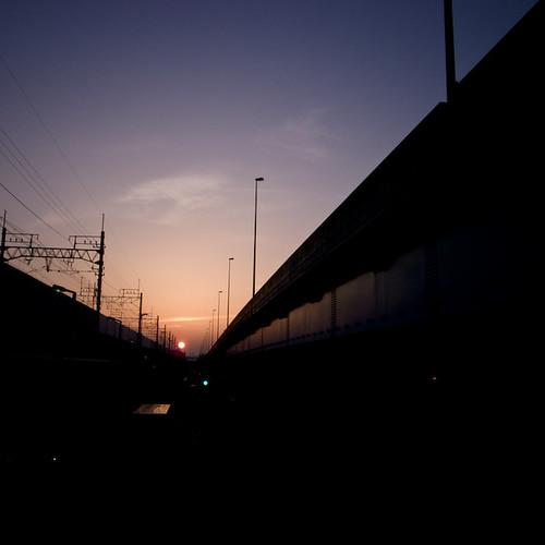 Dunking Over the Keiyo Line