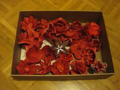 Flowers for the bride's bouquet (Yureiko) Tags: paper papier papierfalten 22internationalestreffenorigamideutschland