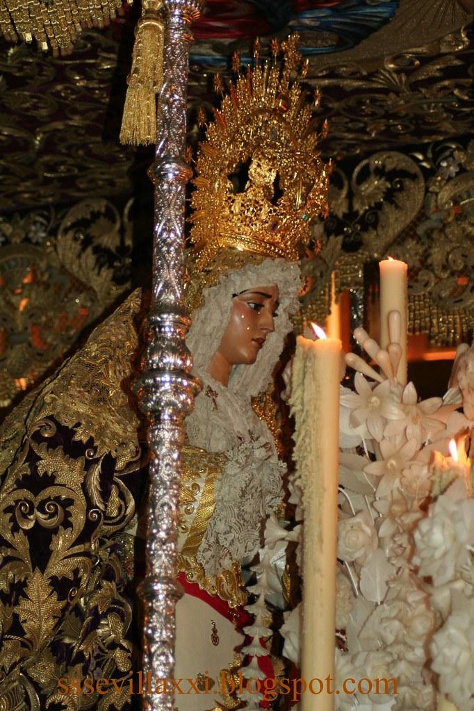 María Santísima de la Caridad en su Soledad, Miércoles Santo 2010