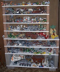 New Star Wars Lego Shelves (Darth Ray) Tags: star lego wars shelves