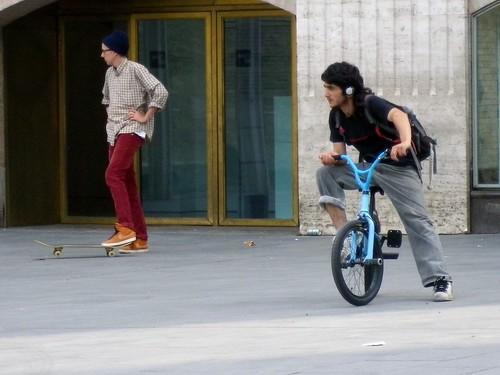 Skate and bike