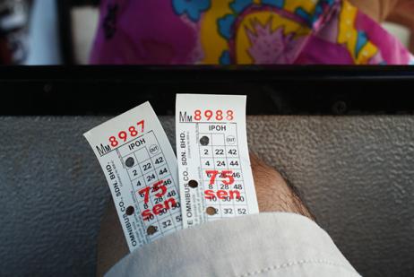 tiket bas