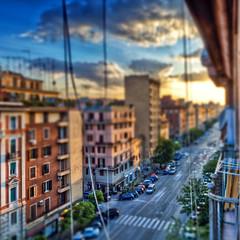 Rome, Italy / Roma, Italia - HDR Tilt shift HDR