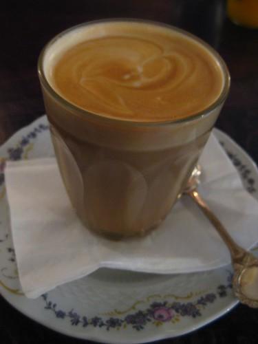Blanc Cafe, King St, Melbourne