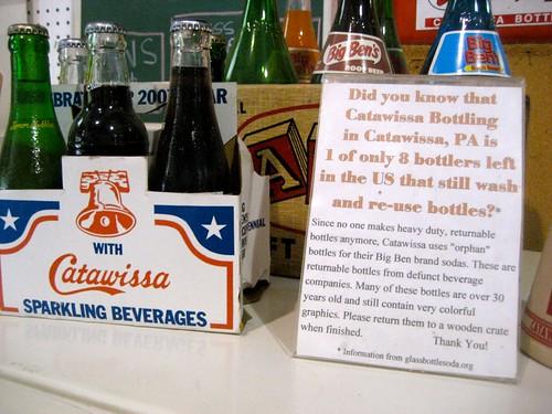 Catawissa Beverages Glass Bottles