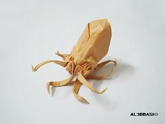Octopus (Al3bbasi.) Tags: origami octopus peterangel al3bbasi