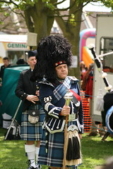 Pipe Major (mickyman13) Tags: canon eos drum portsmouth standrews bagpipes pipeband drummajor standrewspipeband 400d drumandpipeband hamblelericehampshire stmarysmayfayre stmarysmayfayreportsmouth