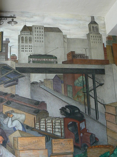 Coit Tower Mural, San Francisco