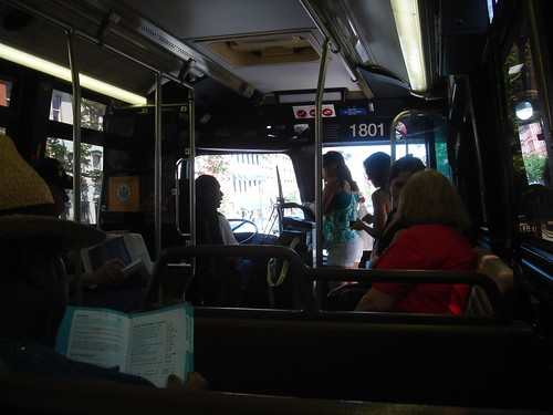 Inside a 1994 Flxible Metro D Bus