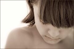 Charlotte (Victoria Hederer Bell) Tags: portrait girl lensbaby hair child lashes head shoulder lensbabycomposer