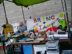 Bring + Take (London Permaculture) Tags: festival stall sharing freecycle share llangollen gifteconomy swapshop freeshop freestore giveawayshop darkmountain uncivilization freeconomics bringandtake freeconomy alternativeeconomics giveandshare freenomics