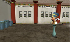 Heritage Key in the Exhibition Hall at Northpoint (primperfect) Tags: sl secondlife treet primperfect heritagekey designingworlds