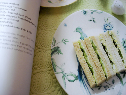 High Tea — Woman's weekly — Sandwich