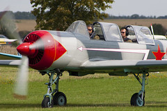 G-YOTS - 9010308 - Private - Bacau Yak-52 - 060827 - Little Gransden - Steven Gray - CRW_4761