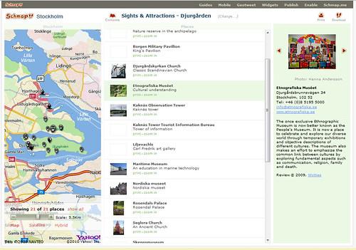 schmap of stockholm
