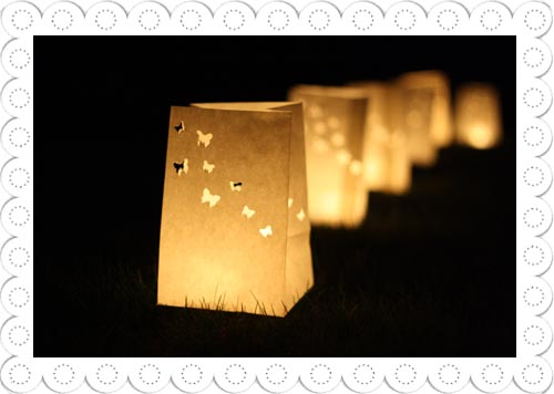 Wedding Paper Lanterns | Paper Lanterns with Butterflies by The ...