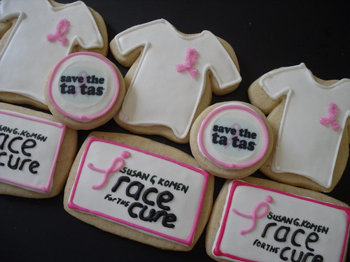 Race for the Cure Fundraiser Taster Cookies