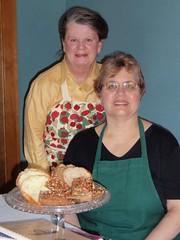 Rae Katherine Eighmey and Debbie Miller