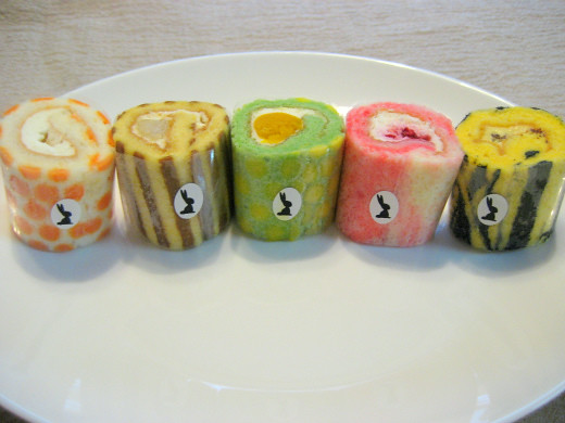 Mini Roll Cakes from