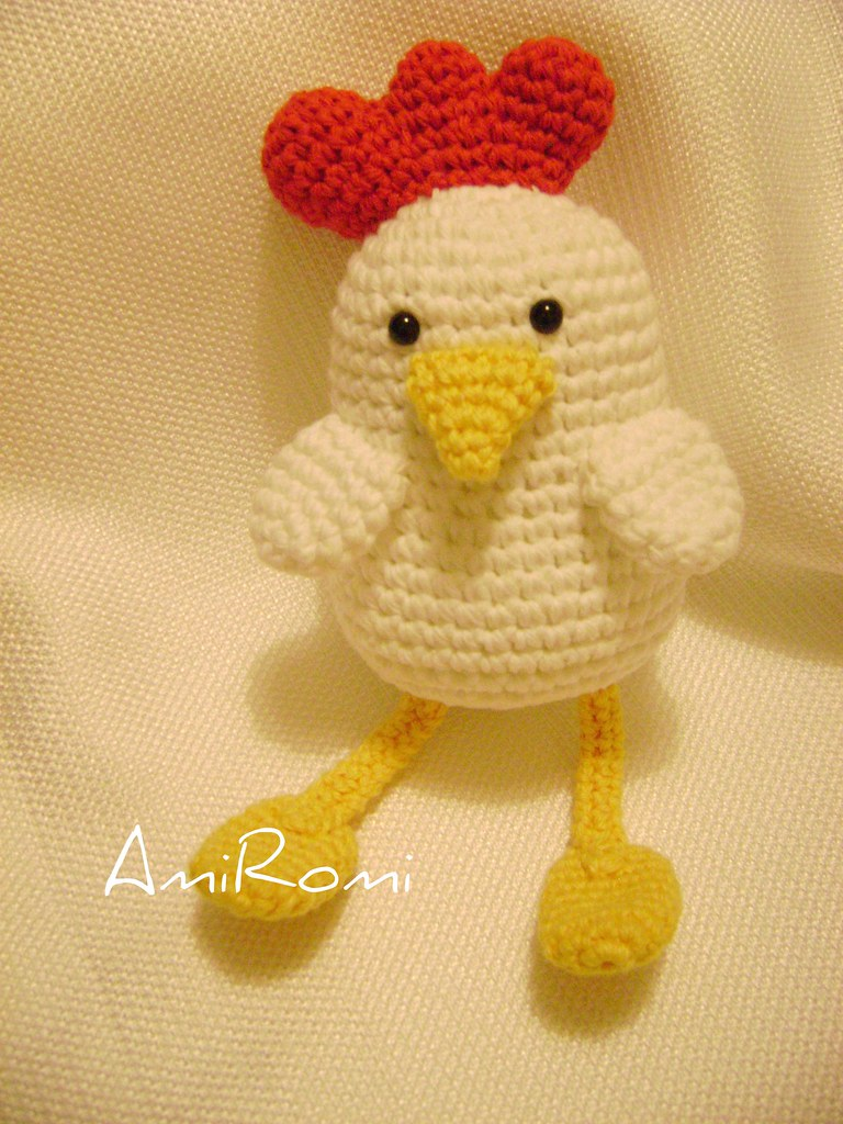 Amigurumi Chicken Pattern : The Worlds newest photos of amigurumi and gallina ...