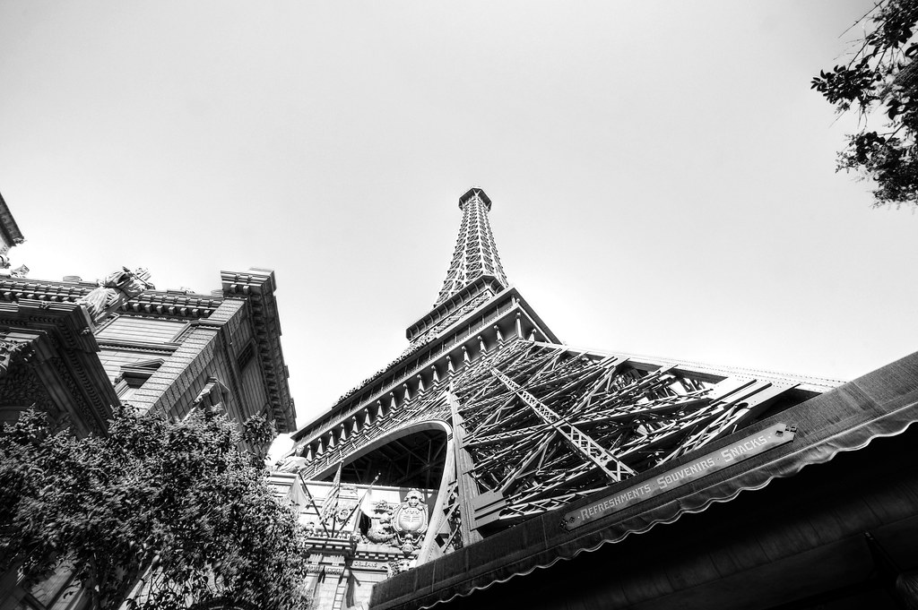 Eiffel Tower Restaurant in Las Vegas.