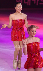 figure skating stars Mao Asada and Joannie Rochette /Medalist on Ice, South Korea 2010 finale (barnchristal) Tags: world girls canada ice japan wonder japanese skating champion nobody canadian figure mao asada skater olympic figureskating joannie worldchampion medalist rochette
