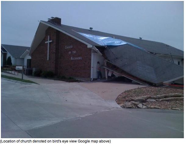 Harrisonville Tornado 6-8-10 Church
