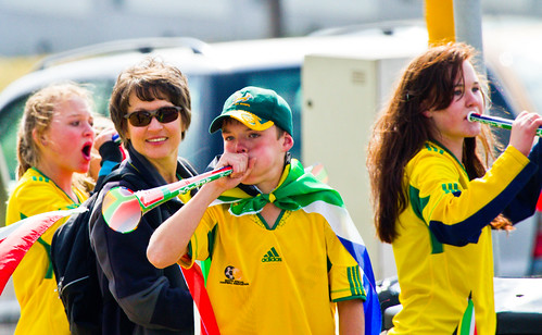 CC picture - http://www.aeromental.net/2010/06/13/the-vuvuzelas-of-the-world-cup-in-south-africa/