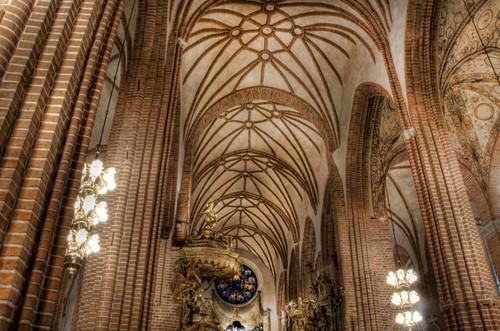 Stokholm. Interior de Storkyrkan. Estocolmo