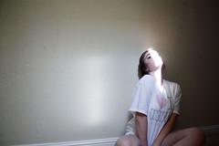 cross this line (Alexandra Moskow) Tags: light portrait selfportrait alex girl wall self hair lyrics eyes inside moskow searing gravitysavedme